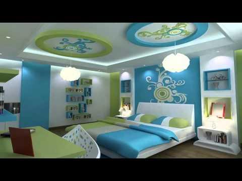 ديكورات جبس لغرف النوم