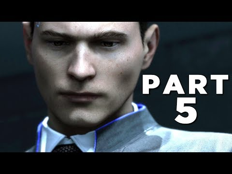 DETROIT BECOME HUMAN Walkthrough Gameplay Part 5 - INTERROGATION (PS4 Pro)