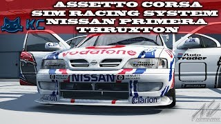 Gaming :Assetto Corsa (PC)🚗 Sim Racing System Nissan Primera @ Thruxton (Live Stream🔴 10/10/2018)