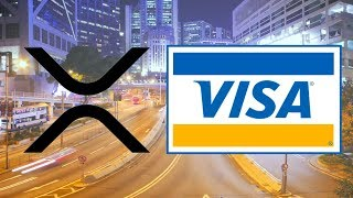 VISA Inc. Using Ripple Technology! - Sending $33 Million ONLY Costs 0.005 XRP!