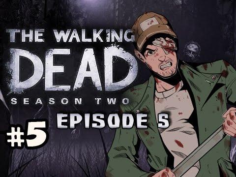 FIRST ENDING - The Walking Dead Season 2 Episode 5 No Going Back Walkthrough Ep.5