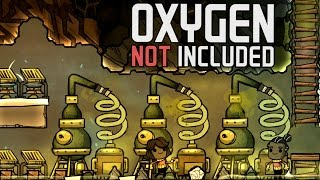 Oxygen Not Included!  Ep. 7 - Slime Refining and 100% Stress! - Oxygen Not Included Gameplay