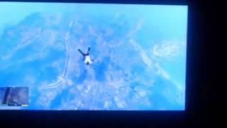 GTA 5 SUICIDE FROM PLANE LEAKED GAMEPLAY HD