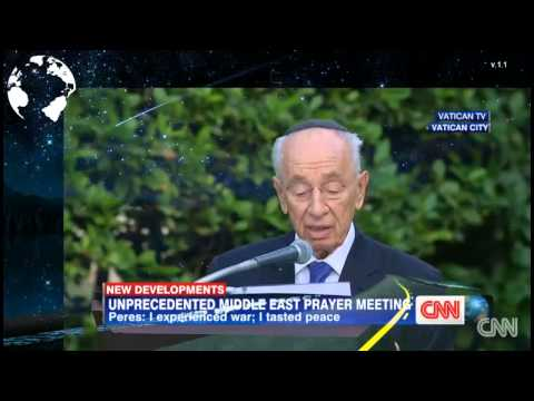 Pope Prays with Mahmoud Abbas and Shimon Peres