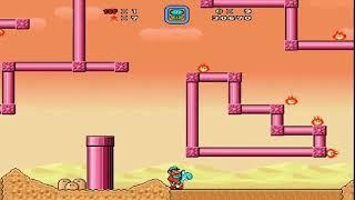 Super Mario bros X I Desert maze world I walkthrough I Old memories I 2019