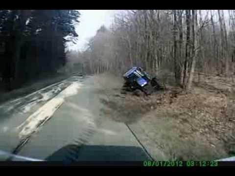 Wypadek Na Drodze Biskupiec Pom-Kisielice