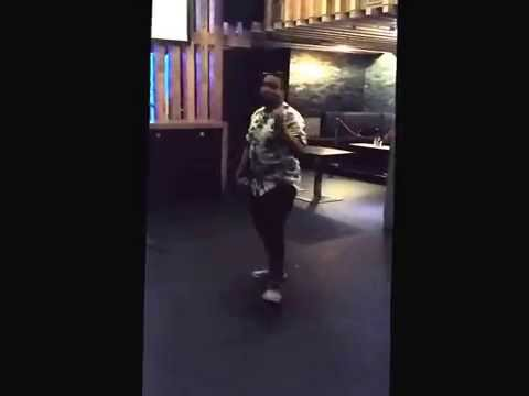 M.Breezy Performing Where She Gon' Go @ Cafe Asia