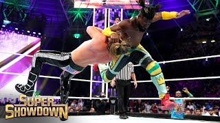 Kofi Kingston destroys Dolph Ziggler with an S.O.S.: WWE Super ShowDown 2019