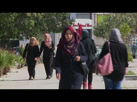 Palestinians in Gaza react to Netanyahu election victory