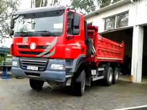 Tatra Phoenix - couvání na dílnu