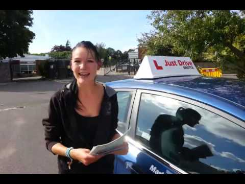 Driving Lessons Bristol. Becca's Driving Test Success