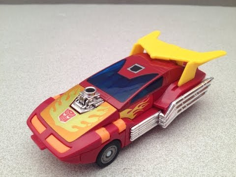 TRANSFORMERS G1 HOT ROD TOY REVIEW
