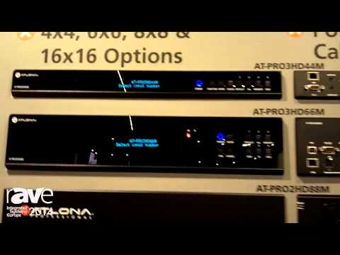 ISE 2014: Atlona Showcases Pro-Series Matrix Switchers with Advanced Control Routing