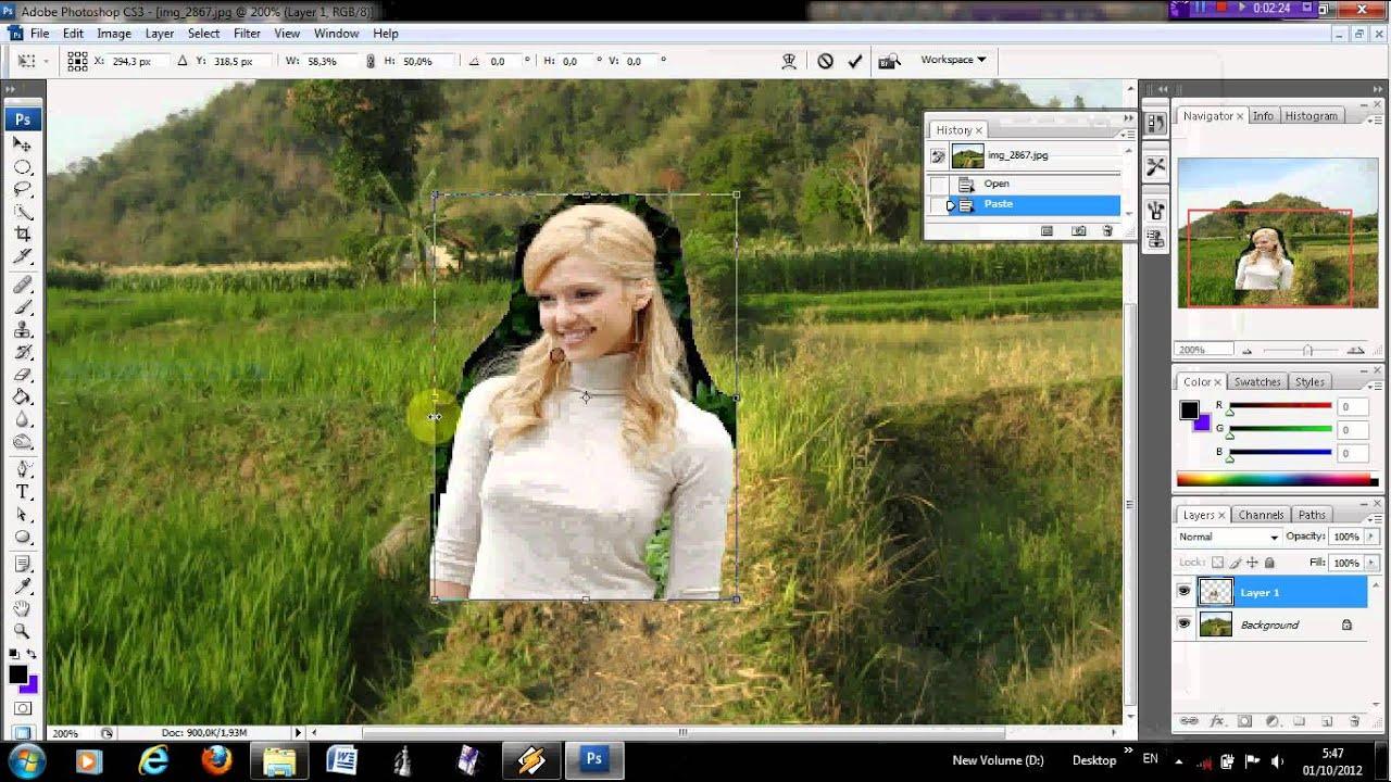 Cara menerangkan foto dengan photoshop cs2 66