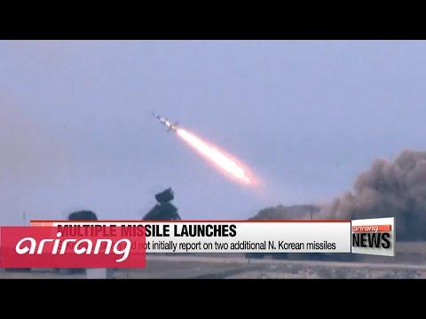 N. Korea fired three surface-to-air missiles last week: Defense Ministry