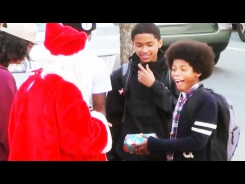 Bad Santa Christmas Prank 2