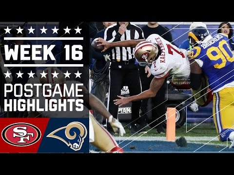 49ers Vs Rams Nfl Week 16 Game Highlights