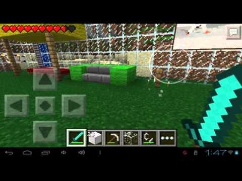 Decoracion como hacer una chimenea en minecraft pe youtube - Como construir una chimenea ...