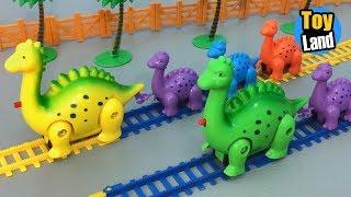 Dinosaur Train Toys Kids Video Funny Track Set for Kids TOYLAND