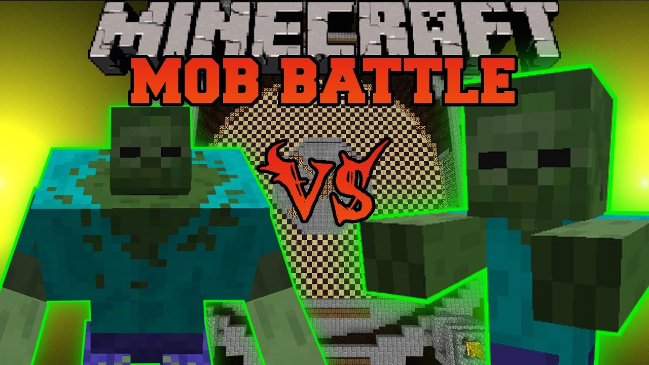 Giant Zombie Minecraft Mob