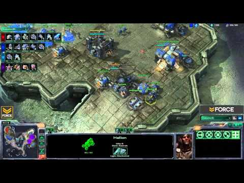 StarCraft 2 - 2v2 ZT vs TT - Commentary