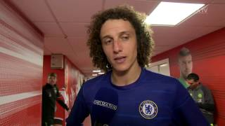 DAVID LUIZ: A great game for us