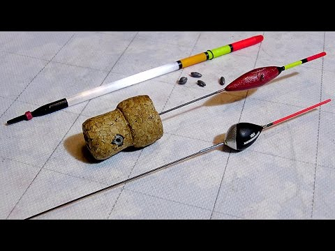 Поплавок для рыбалки своими руками фото