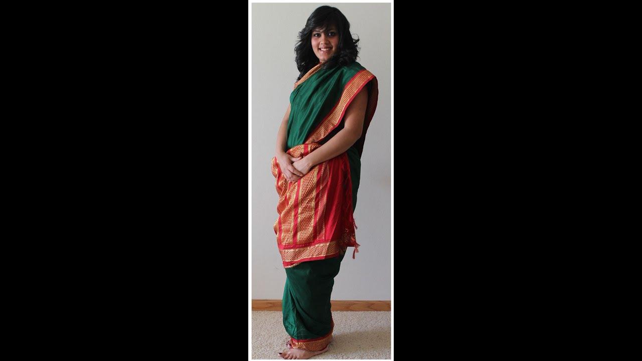 Fashion week How to iyengar wear madisar saree for girls