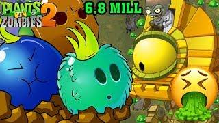 ✔️Battlez Week 63 Over 6,8 Mill Kỉ Lục Siêu ĐỈnh Cao | Plants Vs Zombies 2 | Hoa Quả Nổi Giận 2