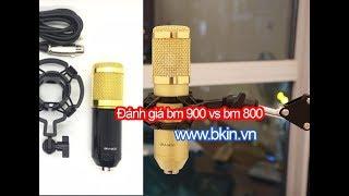 Đánh giá bm 900 so sánh với bm 800