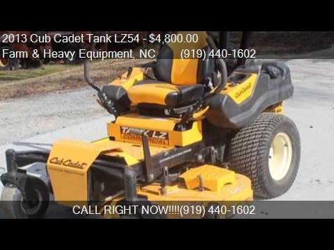 2013 Cub Cadet Tank LZ54  for sale in Farm and Heavy Equipme