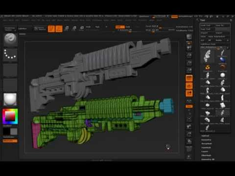 ZBrush4r7 Feature: ZModeling