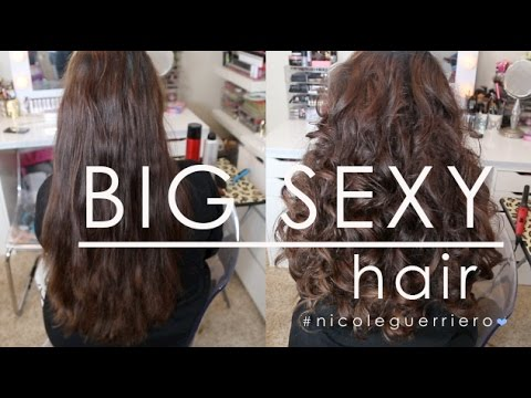 Big Sexy Party Hair | Long Hair video