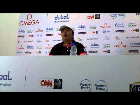 Shanshan Feng on returning to Dubai ahead of the 2013 Omega Dubai Ladies Masters