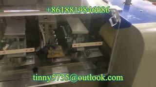 Car freshener paper packaging machine,Car freshener paper flow pack machine