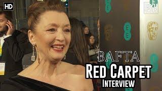 Lesley Manville (Phantom Thread) - BAFTA Awards 2018 Red Carpet Interview