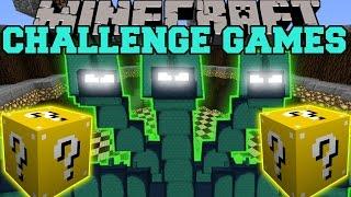 Minecraft HYDRA CHALLENGE GAMES - Lucky Block Mod - Modded Mini-Game