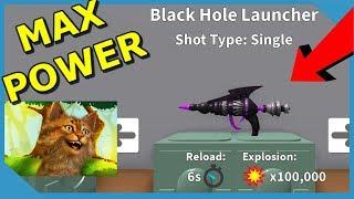 I Got The Black Hole Rocket in Roblox Destruction Simulator