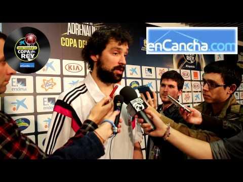 Sergio Llull - Semifinales Copa del Rey 2015 - 21/02/2015