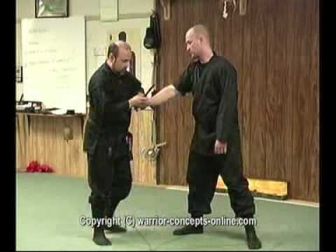 Ninja Self-Defense Knife Defense Technique Image 1