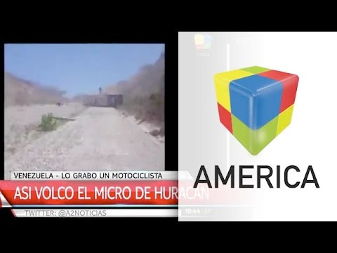 Apareció el video del accidente de Huracán en Venezuela