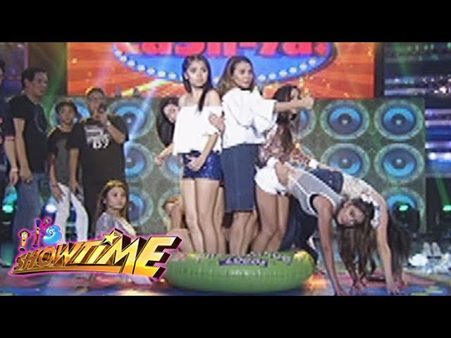 It's Showtime: Team Nadine in a lifebuoy