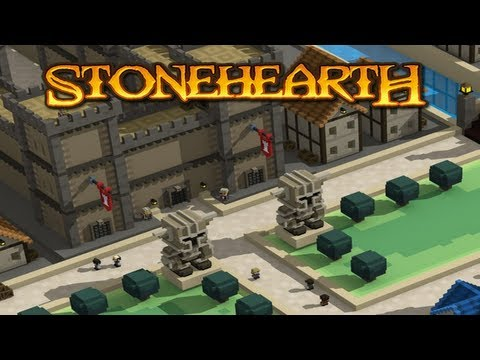 Stonehearth Pre-Alpha - Quick Peek (Real-time Strategy Survival Sandbox!)