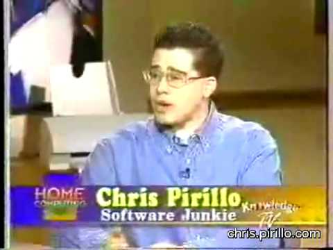 Chris Pirillo s First Cable Television Appearance (1997)