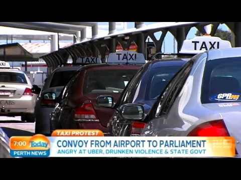 Taxi Protest | Today Perth News