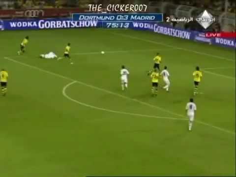 Borussia Dortmund Vs Real Madrid (0-5) 19.08.2009 All HighLights