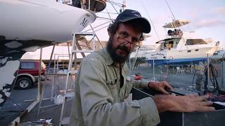 A New Fuel System, the Big Splash and an Unexpected Problem - Free Range Sailing Ep 70