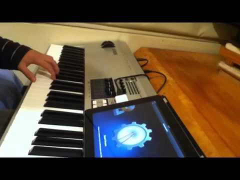Teclado, Sintetizador o Controlador MIDI Conectado al iPad - Parte 3