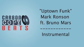 Uptown Funk Instrumental Karaoke In The Style Of Mark Ronson Ft Bruno Mars