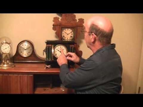 Setting Up Your Antique Mantle Clock Pocket Full Of Time